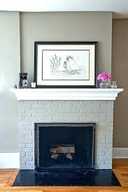 painted brick fireplace colors painted white brick fireplace inside fireplace paint brick fireplace painted same color as surrounding walls warm painting