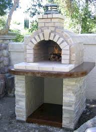 fireplace and pizza oven plans outdoor