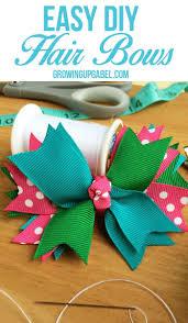 Easy Diy Best 25 Easy Hair Bows Ideas Only On Pinterest Diy Bow Diy