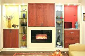electric fireplace wall units entertainment center
