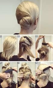 Jednoduché účesy účesy Na Ples Pro Krátké Vlasy