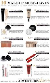 10 makeup must haves for travel double check the list you want to