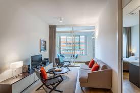 Living Room Bedroom New Amsterdam 1 Bedroom Premium Servicedapartments