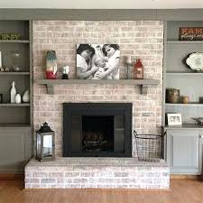 frame around fireplace paint fireplace with whitewash and rust high heat spray fireplace mantels home depot
