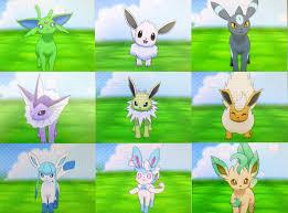 Eevee Evolution Chart Pokemon X Www Bedowntowndaytona Com