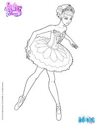 Small Picture GISELLE main character of the Ballet barbie printable Coloring