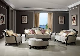 Victorian Living Room Sets 1503 Beckham Victorian Living Room Set With Taupe Gray Gold