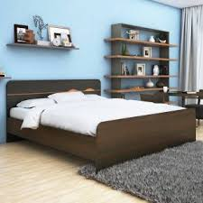 HomeTown Swirl Without Box Storage Engineered Wood King Bed