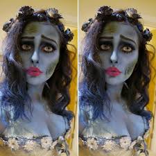 corpse bride costume halloween makeup emily from tim burton corpse bride outfit zombie bride look by