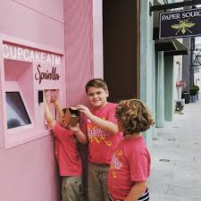 Cupcake Vending Machine Houston Best It's A Thing The Sprinkles Cupcake ATM