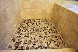 Installing Pebble Shower Floor John Robinson House Decor - Non slip vinyl flooring for bathrooms
