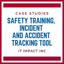 Safety Training Incident Accident Tracking Database 773