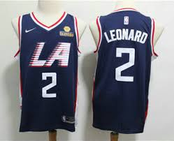 Navy 2 Blue Men's Jersey Nike Sponsor 2019 Logo The Los With Swingman Leonard Angeles Kawhi Edition City Clippers facaadbdccabe These Five Bell Cow Runningbacks