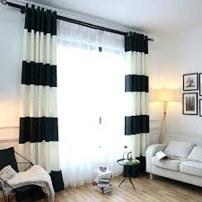 curtains with hooks for living room curtain hook ikea malaysia new terranean black and white striped