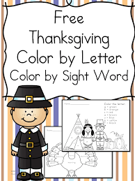Free Thanksgiving Worksheets for Kids - Preschool/Kindergarten Fun