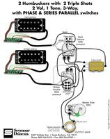 using way switch to replace quickswitch for piezo preamp 2 triple 2 vol 1 tone phase and series para jpg