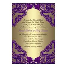 purple and gold wedding invitations & announcements zazzle Purple Gold Wedding Invitations purple and gold wedding invitation cheap purple and gold wedding invitations