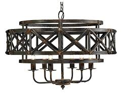 creative co op wood and metal chandelier designs