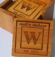 it personalized wooden coasters have an
