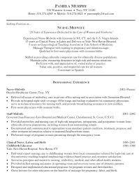 New Graduate Nurse Resume Examples Resume