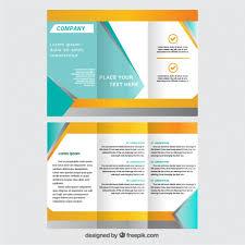 Brochures Templates Free Download Brochure Free Tirevi Fontanacountryinn Com