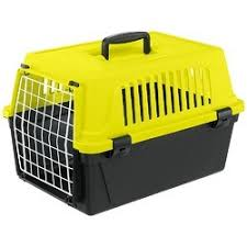 <b>Ferplast переноска Atlas</b> 10 Neon для кошек и собак без ...