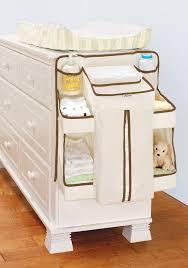 White Diaper Holder Storage Bins Changing Table Closet Organizer Baby  Nursery in Baby, Diapering,
