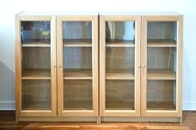 ikea billy bookcase with glass doors architecture bookcase with glass doors new white regard to 0