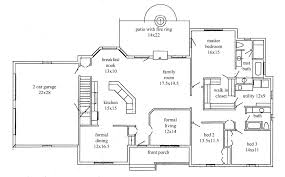 ranch style house plans with walkout basement lovely ranch plans e story ranch house plans 4