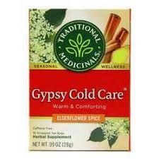 Traditional Medicinals <b>Seasonal Tea</b> - <b>Gypsy Cold</b> Care - 16 bags ...
