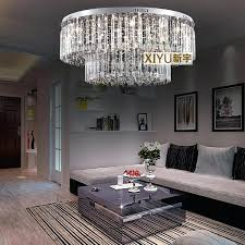 low ceiling chandelier cm crystal ceiling lamp modern low voltage lights round the living room ceiling low ceiling chandelier