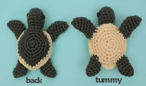 Sea Turtle Crochet Pattern