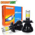 Купить светодиодные лампы h4 для авто на алиэкспресс