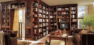 contemporary library furniture. Contemporary Home Library Furniture With Neat Arrangement :