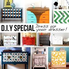 painted dresser ideasDIY Dresser Dressup 15 DIY Ideas  Tutorials
