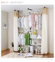 simple closet ideas. Promotional Simple Wardrobe Creative Diy Large Closet Cloth Ideas Pinterest