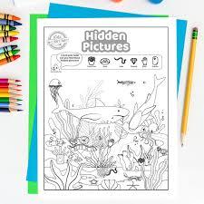 Las vegas is full of fun adventures waiting for you! Free Printable Hidden Pictures Shark Games Kids Activities Blog