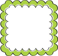 theme border clipart green scalloped frame free clip art frames