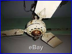 antique ceiling fans. Antique Ceiling Fan Marelli Italy Vintage Electric Old Collectibles Genuine# Fans