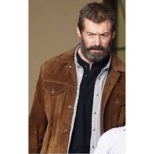 details about x men 2017 logan wolverine 3 hugh jackman brown real suede leather jacket