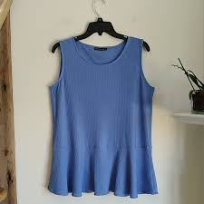 Nally And Millie Size Chart Nally Millie Lavender Peplum Top M Nwt