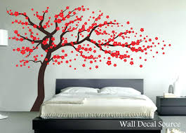 large wall vinyl decals wall decor trees white tree decal large nursery tree decals by appealing large wall vinyl