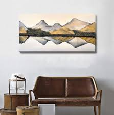home office wall art. Exellent Office Image Is Loading OrientalMountainCanvasPrintFramedWallArtHome For Home Office Wall Art H