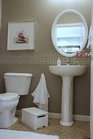 Fabulous Design Ideas For Powder Room Makeovers Powder Room Makeover Ideas  Racetotop