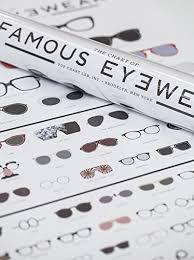 Chart Of Famous Eyewear
