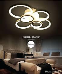 ceiling mounted lights new design remote control living room bedroom modern led para dimming lamp flush mount light surface australia