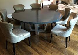 72 inch round dining table pedestal