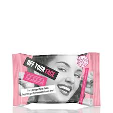 soap glory off your face wipes make up remover wipes