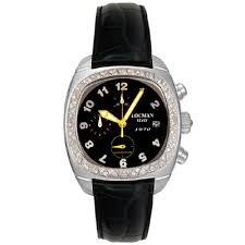 locman men s 1970 collection leather strap watch shipping locman men s 1970 collection leather strap watch