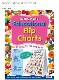 Mighty Minds Educational A3 Flip Charts Frog Street Press